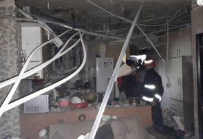 انفجار گاز طبقه دوم برج مسکونی قایم در شهرک اندیش