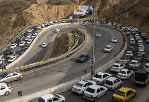 ممنوع شدن تردد خودروها به خارج از استان تهران
