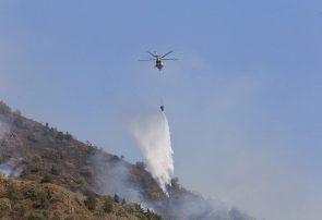 فرماندار خداآفرین: کمبود امکانات دغدغه اطفای حریق جنگل های ارسباران است