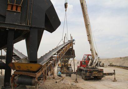 نوسازی تجهیزات سنگ شکن کارخانجات آسفالت سازمان عمران شهرداری