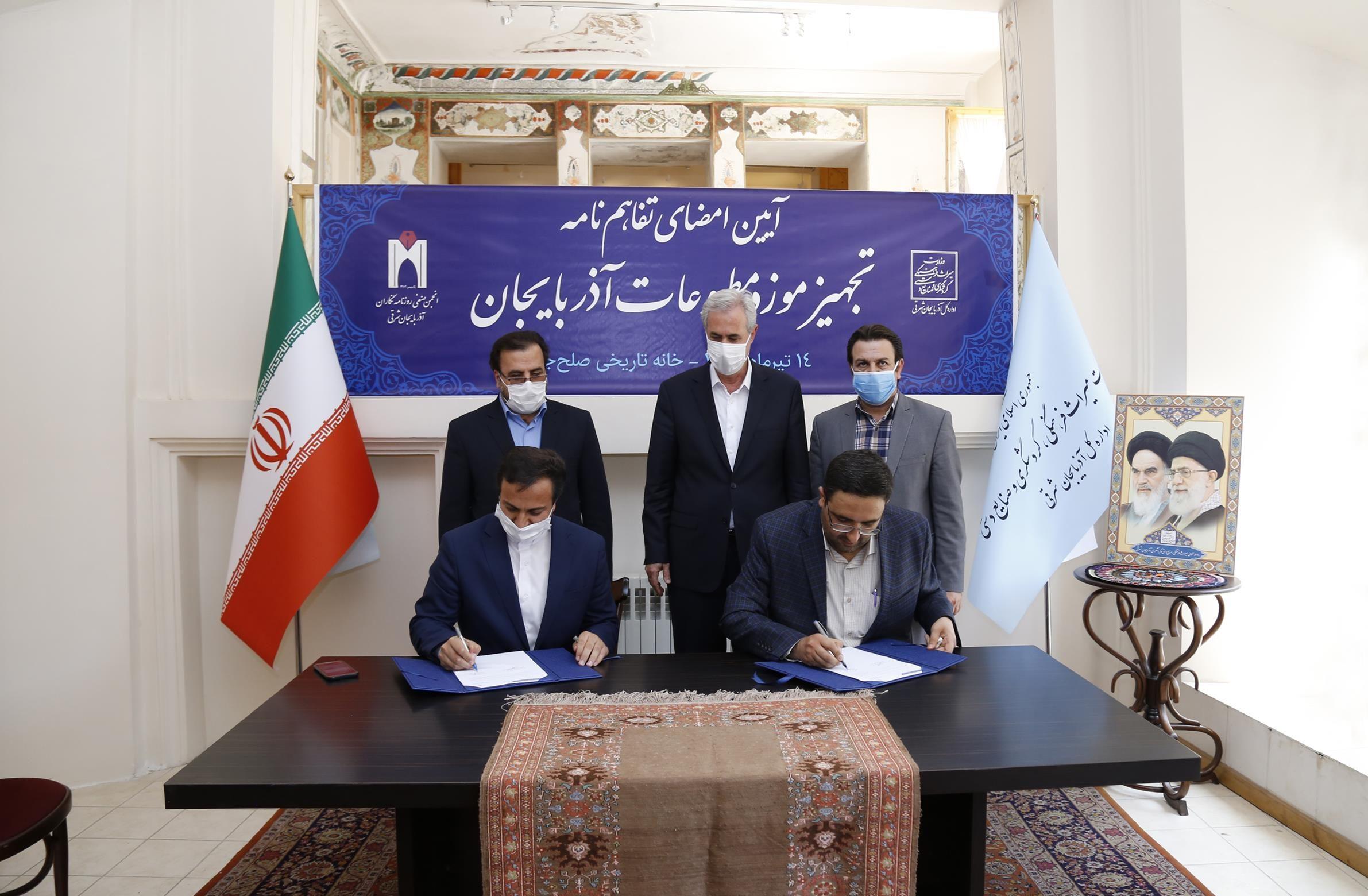 موزه مطبوعات آذربایجان، روز خبرنگار افتتاح میشود