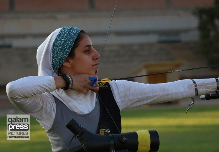 اردوی تیم ملی بزرگسالان تیراندازی باکمان در استادیوم ورزشی دانشگاه تبریز