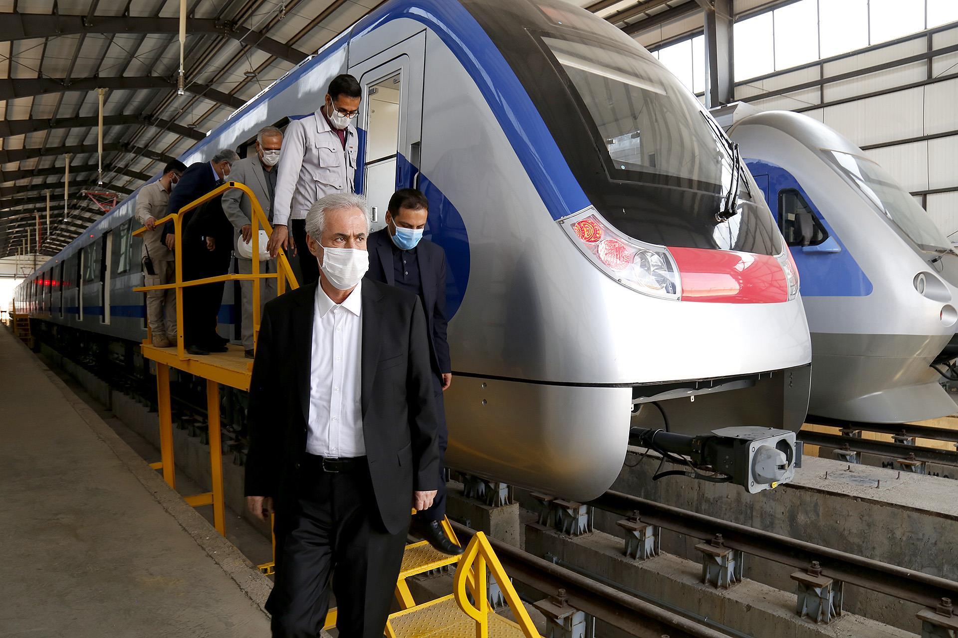 تا دو ماه آینده، ۱۰ واگن تحویل سازمان قطار شهری تبریز شود