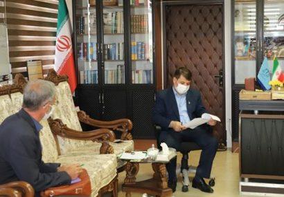 بررسی ۷۵ پرونده قضایی در دیدار چهره به چهره با رئیس کل دادگستری استان آذربایجان شرقی