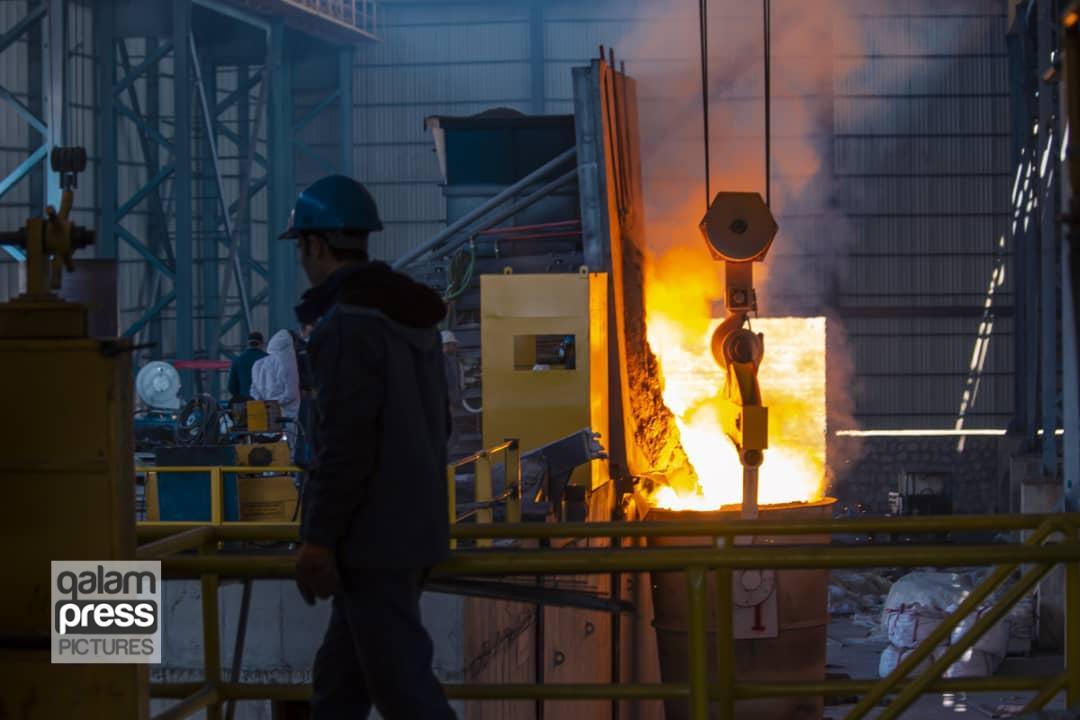افتتاح فاز اول خط تولید شمش فولاد ارس با ظرفیت تولید ۱۲۰ هزار تن