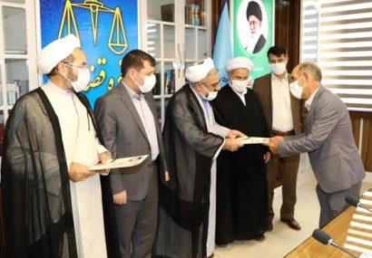 تجلیل از آزادگان توسط رئیس کل دادگستری آذربایجان شرقی
