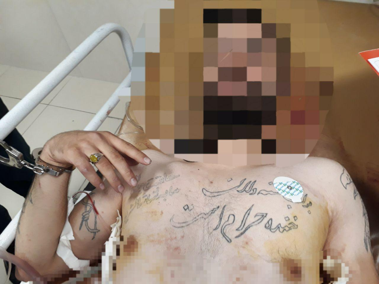 برخورد مقتدرانه پلیس تبریز با دستگیری یکی از اراذل و اوباش قمه کش در تبریز