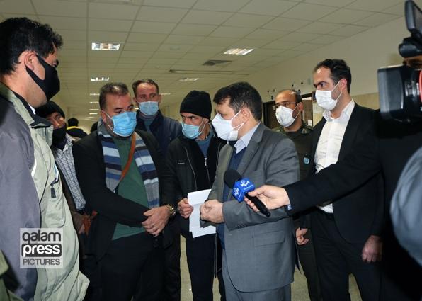 بازدید سر زده رئیس کل دادگستری آذربایجان شرقی از مجتمع قضایی شهید بهشتی