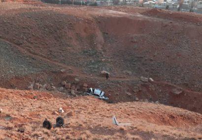سقوط سمند از ارتفاعات عون بن علی