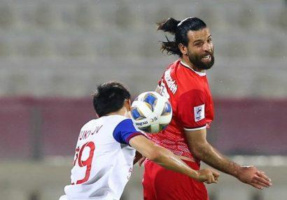 عباسزاده بهترین بازیکن بازی تراکتور با الشارجه