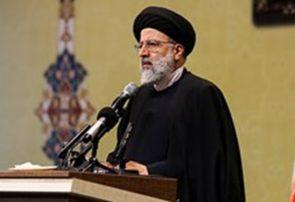 ادای احترام آیتالله رئیسی به مقام شامخ شهیدبهشتی و شهدای هفتم تیر