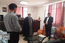 بازدید از پیش اعلام نشده رئیس کل دادگستری مازندران از حوزه قضایی لاریجان