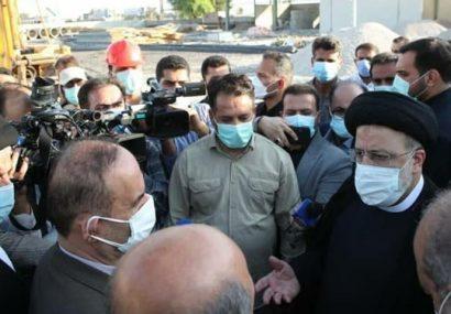 گزارش سفر رئیسجمهور به خوزستان/ از شنیدن گلایهها تا وعده وزیر بهداشت برای واکسیناسیون تمام مردم