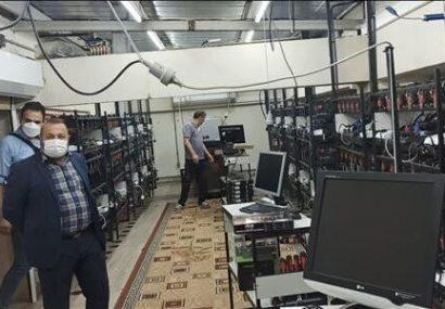 ۳۱۲ دستگاه استخراج رمز ارز در تبریز کشف شد