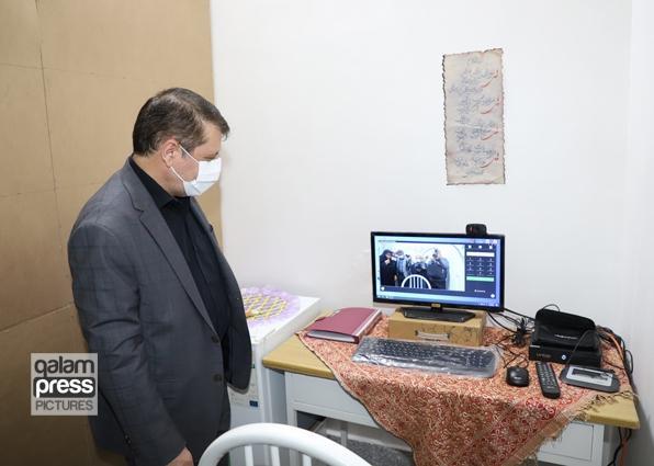 افتتاح واحد دادرسی الکترونیکی ویژه بند نسوان زندان مرکزی تبریز