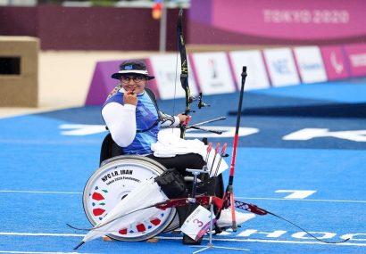 زهرا نعمتی نهمین طلایی ایران در پارالمپیک توکیو