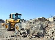 برخورد قانونی با تخلیهکنندگان نخاله ساختمانی در بستر رودخانههای مرند
