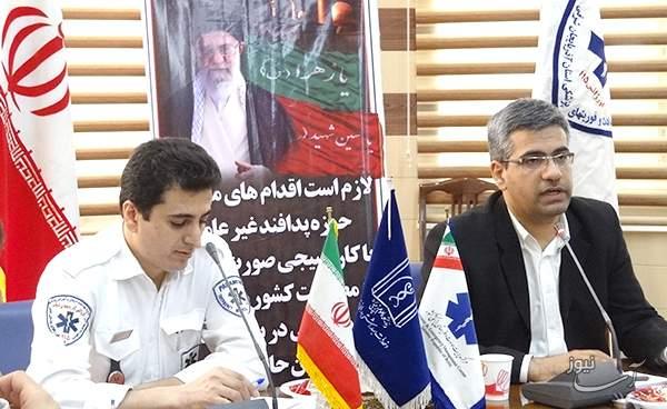 اورژانس موتوری تبریز پس از تهران فعالترین اورژانس در کشور است/فعالیت اورژانس هوایی در ایام نوروز