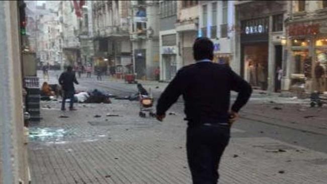 لحظه انفجار مرگبار در پایتخت ترکیه/ ویدئو