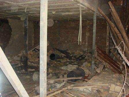 انفجار شدید در تبریز / ساخت مواد محترقه حادثه آفرید + عکس