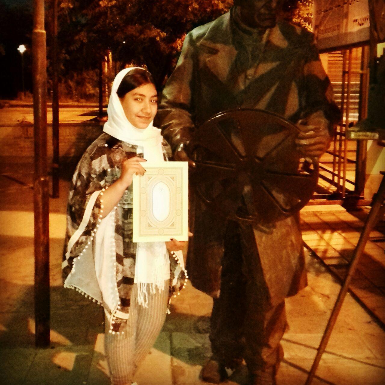 آثار دانش آموز تبریزی برگزیده جشنواره راه و چاه + عکس