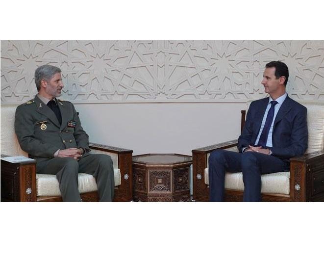 بشار اسد:لزوم توسعه روند هماهنگیهای مشترک بین سوریه و ایران
