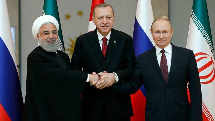 احتمال دیدار روحانی، پوتین و و اردوغان در تبریز