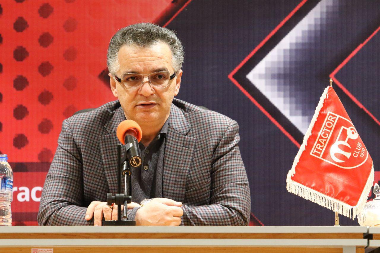 زنوزی: من تراکتوری هستم/ خبرهای خوب در ۱۰ روز آینده برای هواداران دارم