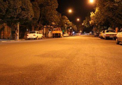 عملیات آسفالت تراشی، اصلاح روسازی و آسفالت ریزی خیابان فردوسی