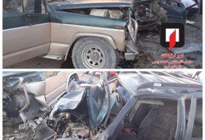 تصادف در جاده اسپیران یک کشته و پنج نفر مصدوم برجای گذاشت