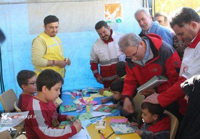 اجرای طرح امداد فرهنگی برای کودکان و نوجوانان مناطق زلزلهزده