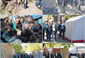 خسارت ۵۰۰ میلیارد ریالی بخش کشاورزی آذربایجان شرقی از زلزله