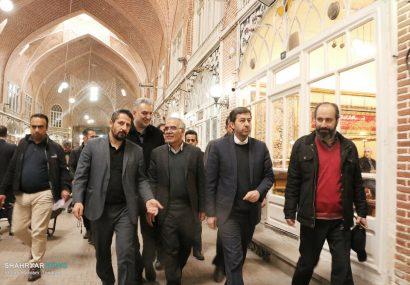 آتش سوزی بازار تبریز یک کشور را نگران کرد