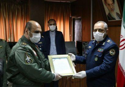 فرمانده جدید پایگاه هوایی شهید فکوری تبریز معرفی شد