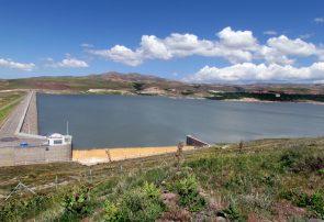 کاهش ذخیره آب سدهای بزرگ استان آذربایجان شرقی