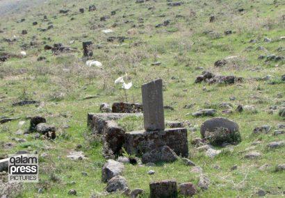 قبرستان تاریخی با داستان هایی اسرار آمیر در تبریز + تصاویر