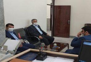 بازدید رئیس کل دادگستری استان آذربایجان شرقی از دادگاه عمومی بخش ترکمانچای