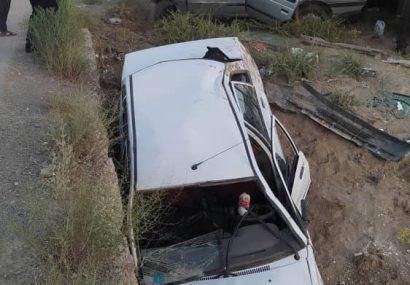 سانحه رانندگی در محور ورزقان خواجه ، ده مصدوم و یک فوتی برجای گذاشت