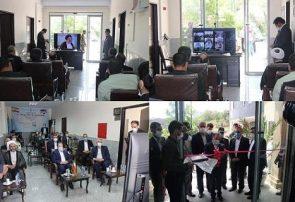 افتتاح ساختمان شورای حل اختلاف شهرستان مرند