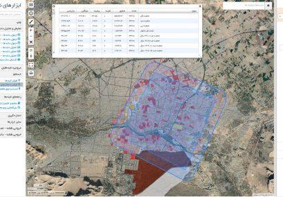 """طراحی و تولید سامانه """"زیر ساخت داده مکانی شهر هوشمند """""""