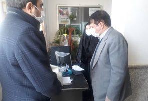 بازدید رئیس کل دادگستری آذربایجان شرقی از حوزه های قضایی شبستر و تسوج