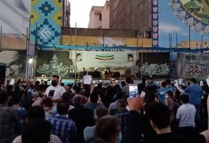 آیت الله رئیسی در اجتماع هزاران نفری مردم اسلامشهر سخنرانی کرد