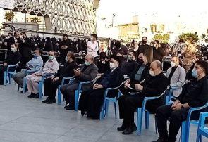 رئیسی در جمع عزاداران صادق آل محمد (ص) در میدان امام حسین(ع) حضور یافت