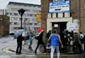 محکومیت حمله بزدلانه منافقین به رایدهندگان ایرانی در انگلیس/ درخواست برخورد با خاطیان مخالف آزادی