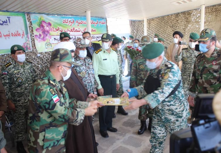 مراسم معارفه فرمانده جدید تیپ ۲۵ نیروی مخصوص ارتش