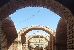 مرمت دالان ورودی مسجد مجموعه تاریخی حسن پادشاه تبریز