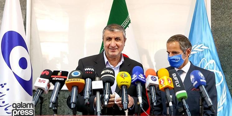 بیانیه مشترک ایران و آژانس: اجازه به بازرسان برای سرویس فنی تجهیزات نظارتی و جایگزینی کارتهای حافظه