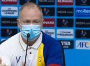 مربی النصر: با تمام احترام به مربی رقیب ؛ تراکتور نمی توانست مقابل ما برنده باشد