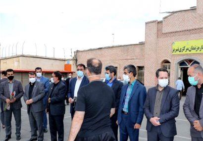 آزادی ۱۲۰ نفر از زندانیان استان به مناسبت گرامی داشت هفته دفاع مقدس
