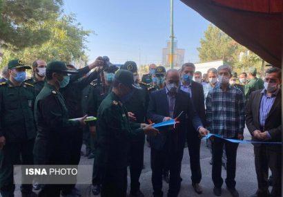 مرکز واکسیناسیون خودرویی در تبریز افتتاح شد/عکس